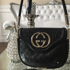 GUCCI Guccisima Black Bag